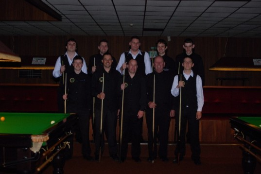 Gold Waistcoat Tour Event 5 Players 2008-9