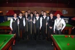 Gold Waistcoat Tour Event 5 Players 2010-11