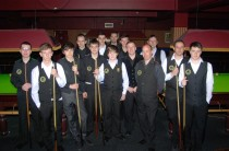 Gold Waistcoat Tour Event 5 Players 2011-12