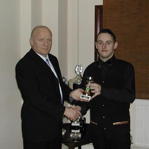 Gold Waistcoat Tour Event 5 Runner-up 2005-6