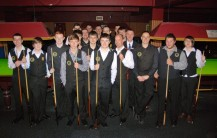 Gold Waistcoat Tour Event 6 Players 2011-12