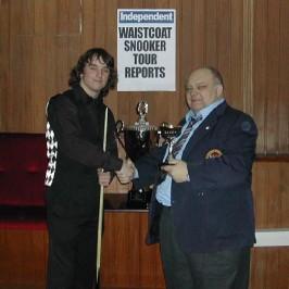 Gold Waistcoat Tour Event 6 Winner 2005-6