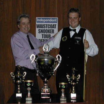 Gold Waistcoat Tour Overall Runner-up 2004-5