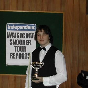 Gold Waistcoat Tour Overall Runner-up 2006-7
