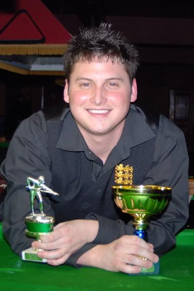 Gold Waistcoat Tour Overall Runner-up 2007-8