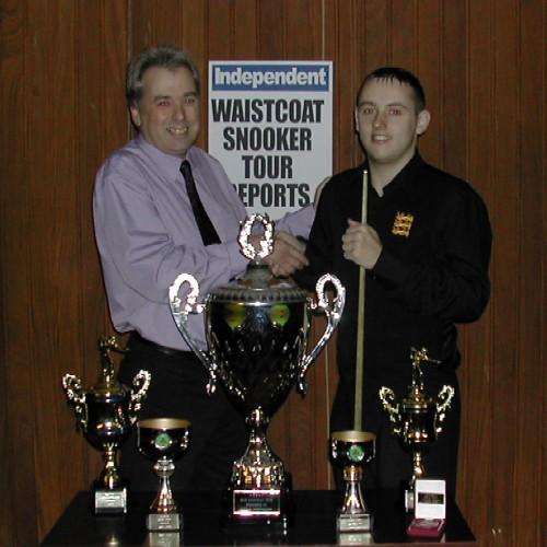 Gold Waistcoat Tour Overall Winner 2004-5