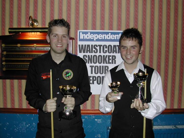 Silver Waistcoat Tour Event 1 Finalists 2006-07