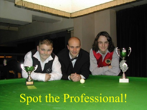 Silver Waistcoat Tour Event 1 Players 2004-05