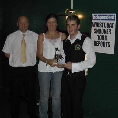 Silver Waistcoat Tour Event 1 Runner-up 2005-06