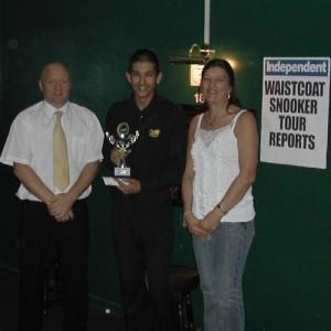Silver Waistcoat Tour Event 1 Winner 2005-06