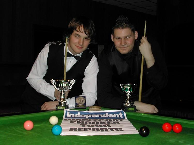 Silver Waistcoat Tour Event 2 Finalists 2006-07