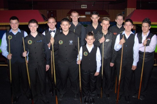 Silver Waistcoat Tour Event 2 Players 2007-08