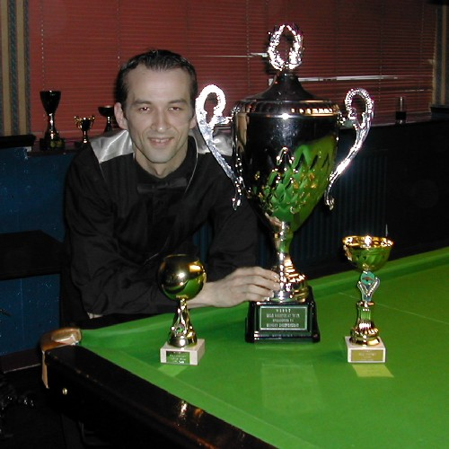 Andy Radford - Gold Champion 2005-06