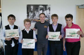 Bronze Waistcoat Championship Gallery 2012-13