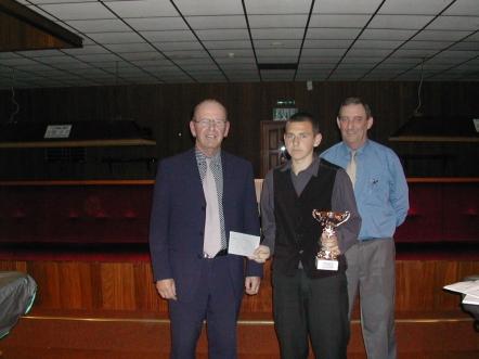 Bronze Waistcoat Finals Day Overall Winner 2003-04