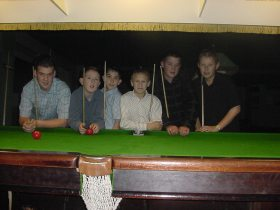 Bronze Waistcoat Tour Exeter Event 1 Players 2004-05 B
