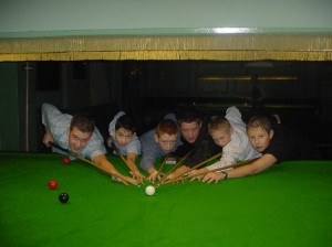 Bronze Waistcoat Tour Exeter Event 1 Players 2004-05