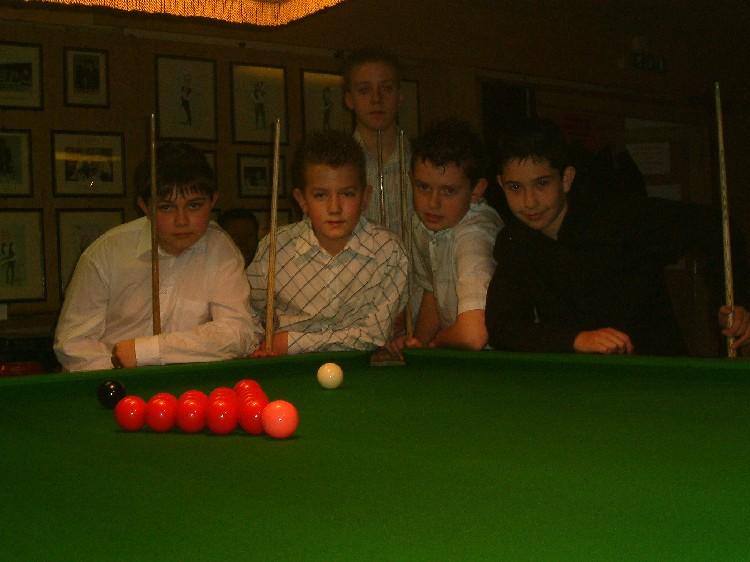 Bronze Waistcoat Tour Exeter Event 1 Players 2005-06