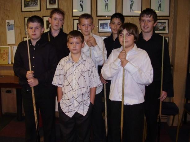 Bronze Waistcoat Tour Exeter Event 1 Players 2006-07