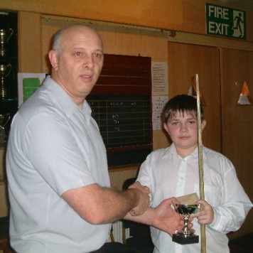 Bronze Waistcoat Tour Exeter Event 1 Runner-up 2005-06