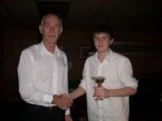 Bronze Waistcoat Tour Exeter Event 1 Runner-up 2008-09