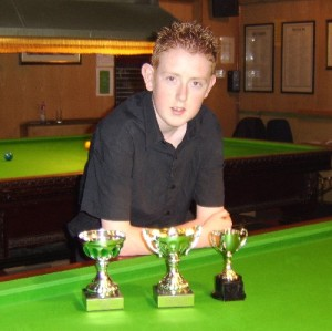 Bronze Waistcoat Tour Exeter Event 3 Winner Dan Hine 2004-05