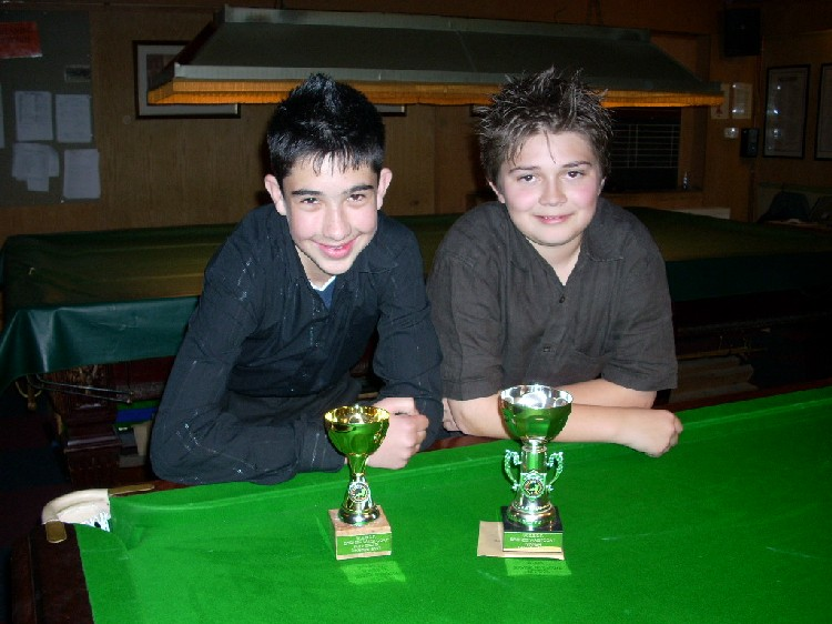 Bronze Waistcoat Tour Exeter Event 3 Players 2007-08