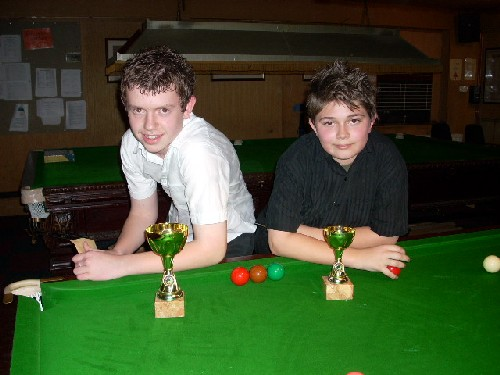 Bronze Waistcoat Tour Exeter Event 4 Players 2007-08