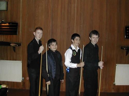 Bronze Waistcoat Tour Exeter Qualifiers 2006-07