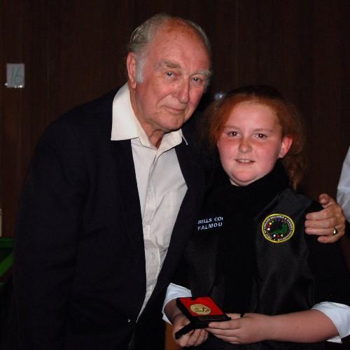 Bronze Waistcoat Tour Finals Day Falmouth Achievement 2007-08 3