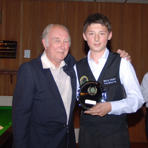 Bronze Waistcoat Tour Finals Day Falmouth Most Improved 2007-08