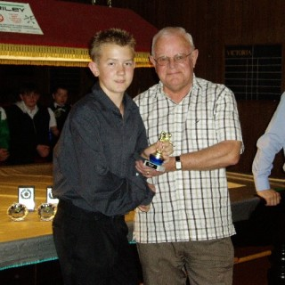 Bronze Waistcoat Tour Finals Day Plate Runner-up 2006-07