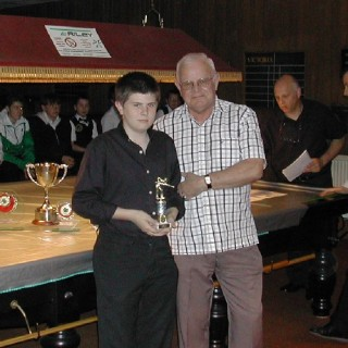 Bronze Waistcoat Tour Finals Day Plate Winner 2006-07