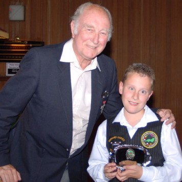 Bronze Waistcoat Tour Finals Day Redruth Most Improved 2007-08