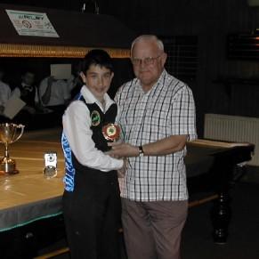 Bronze Waistcoat Tour Finals Day Runner-up 2006-07