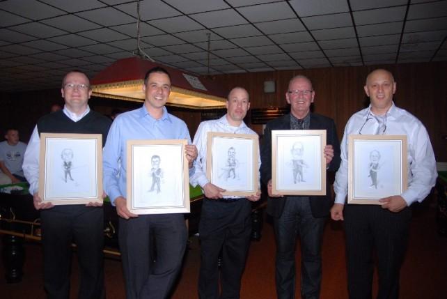 Bronze Waistcoat Tour Finals Day Tournament Director Awards 2007-08