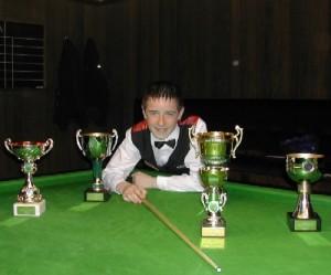 Bronze Waistcoat Tour Finals Day Winner 2004-05 Dale Branton