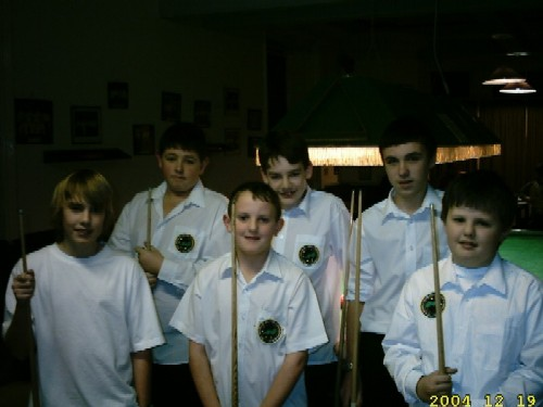 Bronze Waistcoat Tour Redruth Event 2 Players 2004-05