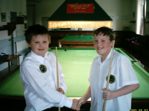 Bronze Waistcoat Tour Redruth Event 5 Players 2004-05