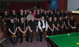 Gold Waistcoat Tour Event 2 The Players 2014-5