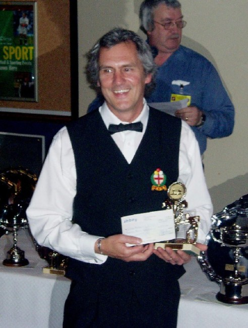 Plymouth International Channel Island Challenge Billiards Higest Break - Chris Mitchell 2007