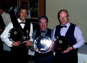 Plymouth International Channel Island Challenge Billiards Winners - Cornwall 2007