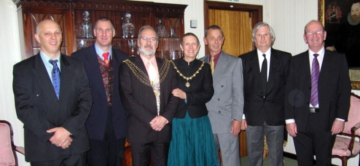 Plymouth International Channel Island Challenge Civic Reception Full Party 2007