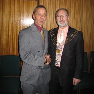 Plymouth International Channel Island Challenge Civic Reception Jersey Representatve - Gary Truscott 2007