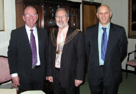 Plymouth International Channel Island Challenge Civic Reception WEBSF Representatives 2007