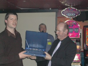 Plymouth International Channel Island Challenge Guernsey Team Manager (left) 2007