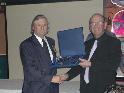 Plymouth International Channel Island Challenge JBSA President (left) 2007