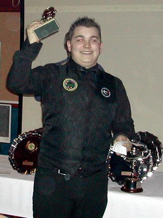 Plymouth International Channel Island Challenge Junior Snooker Highest Break Bobby Southworth 2007