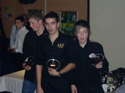 Plymouth International Channel Island Challenge Junior Snooker Jersey 2007