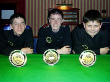 Plymouth International Channel Island Challenge Junior Snooker Runners-up WEBSF 2007